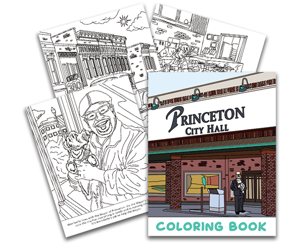 Custom Coloring Book Success Story: The Mayor of Princeton Texas ...