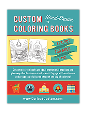 Custom Coloring Books Hand-Drawn from Photos | United States