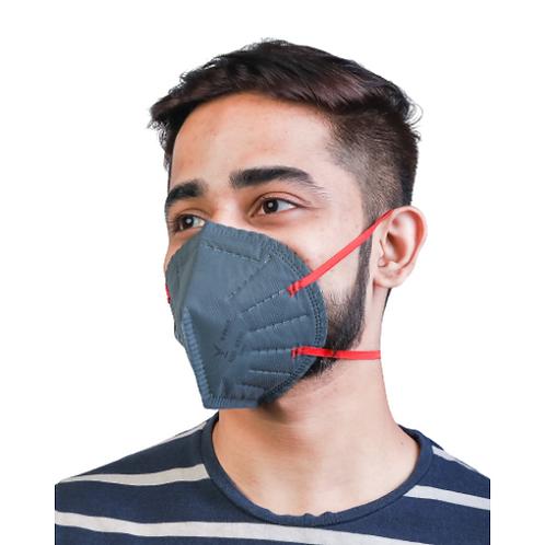 V-FREE N95 6540/6420 FFP1 4 Layer Grey Respirator Mask (Pack of 5)
