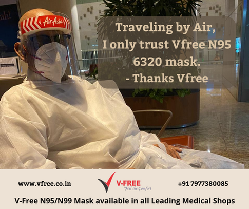 Travelling by Air, I only trust Vfree N9