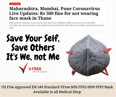 V-Free N95 6320 Mask Fine for Not Wearin