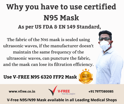 Why you have to use certified N95 Mask.p