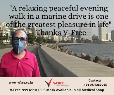V-Free N95 6320 Mask-Evening walk.png