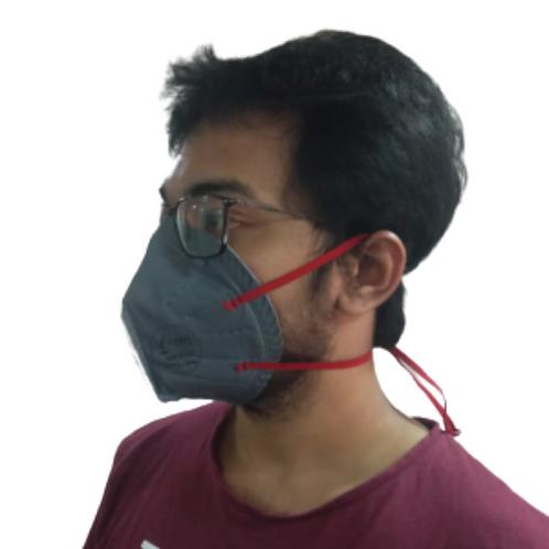 V-FREE N99 6110 FFP3 6 Layer Grey Respirator Mask (Pack of 3)