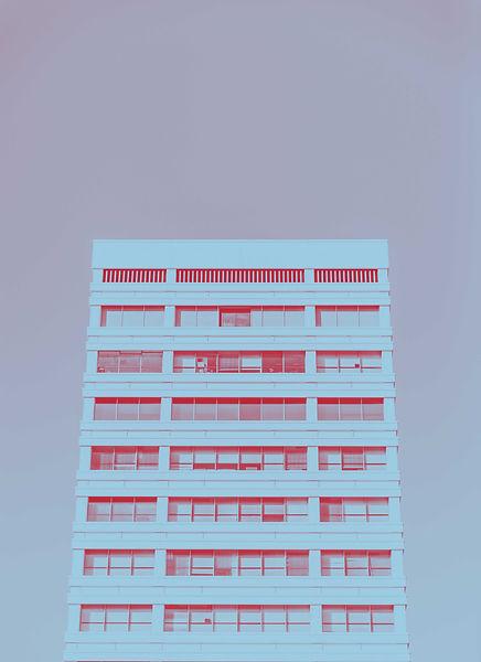 fotogradia de um prédio. Por Andre Benz