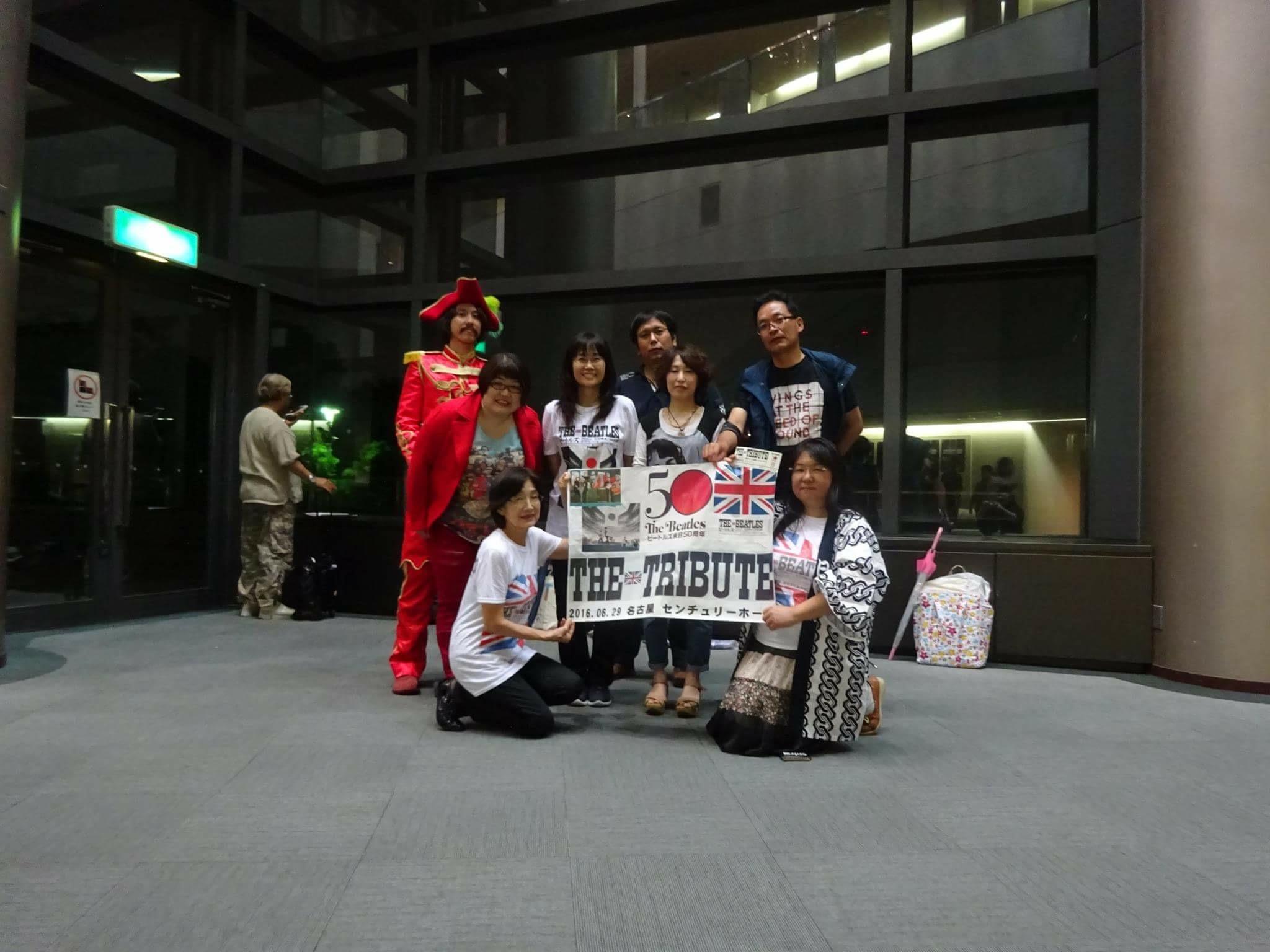 2016 6/29 THE TRIBUTE 集合写真 企画 名古屋会場