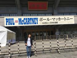 2017 4/25 Paul McCartney 来日ツアー 2017