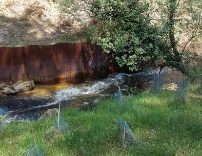 A63 - Landes - Ruisseau Vieux Lugo