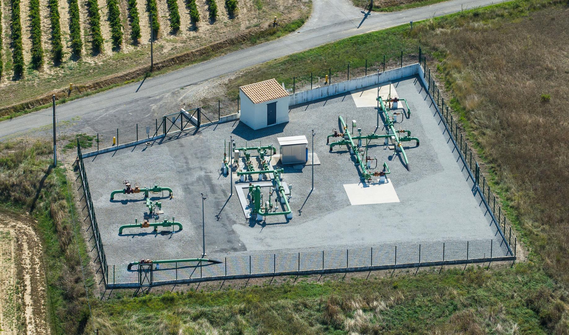 Poste de distribution de gaz