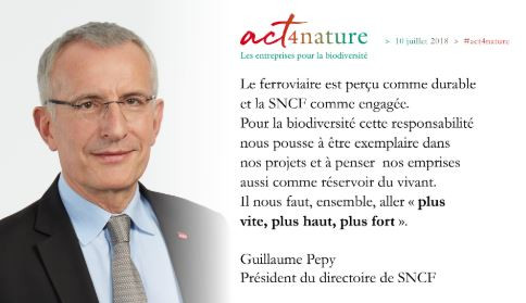 Act4Nature - SNCF