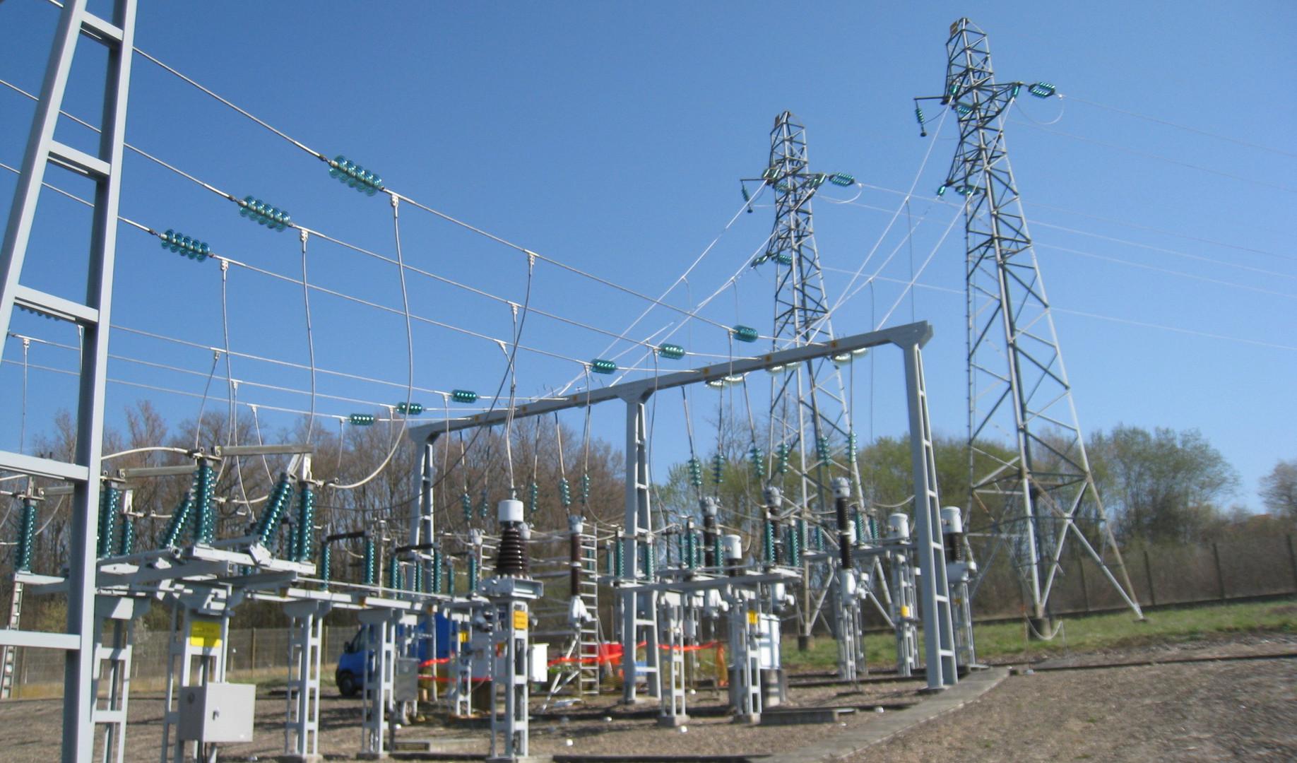 Poste électrique Auvergne - Sainte-Yorre