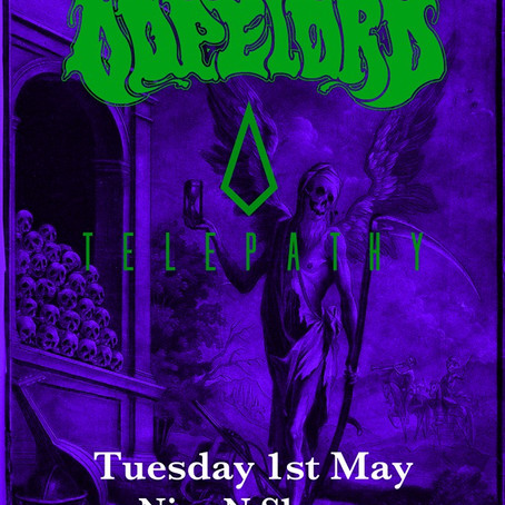 Hey Glasgow!  We will finally be seeing you as part of the Dopelord/Telepathy co-headline tour.