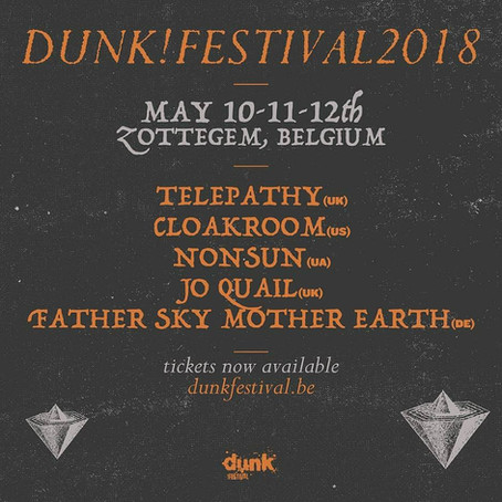 Come and join us at the Dunk and ArcTanGent festival this year!