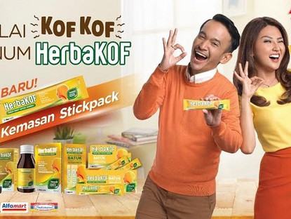 HERBAKOF - Batuk, Tuntaskan dengan HerbaKOF! Terbuat dari Herbal Alami, tak Bikin Kantuk