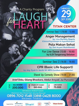 Copy of Final Poster laugh for heart (2)