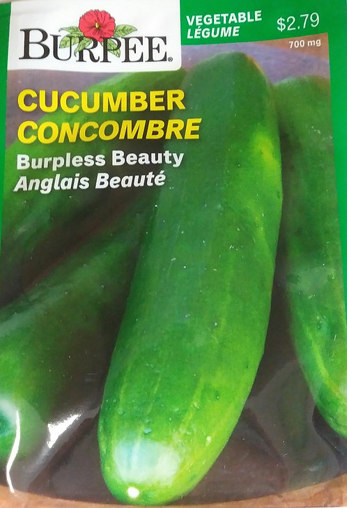 Semences Concombre Burpee