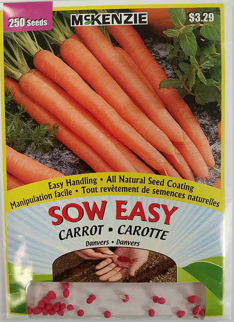 Semences Carotte Sow Easy Mckenzie
