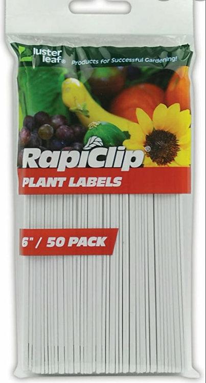 Étiquettes d'identification pour semis