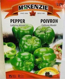 Semences Poivron Mckenzie