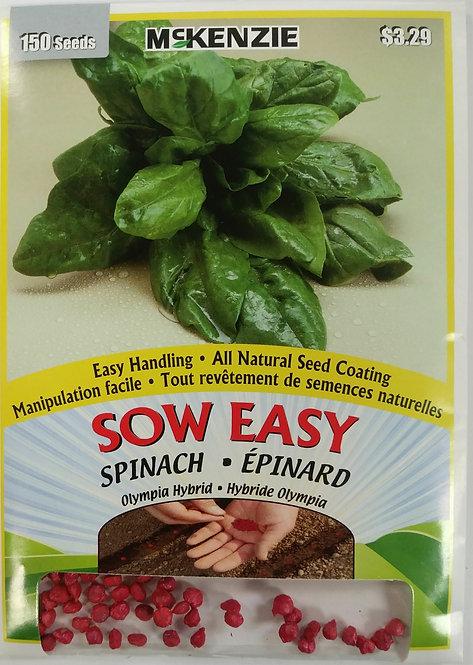 Semences Épinard Sow Easy Mckenzie
