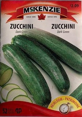 Semences Courgette Mckenzie