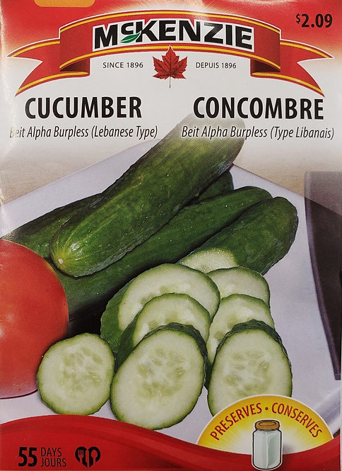 Semences Concombre Mckenzie
