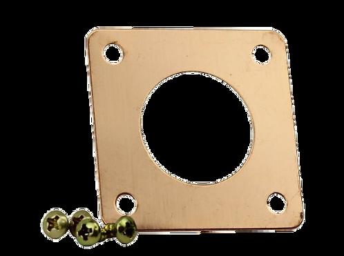 Portique en cuivre pour nichoir Mésange