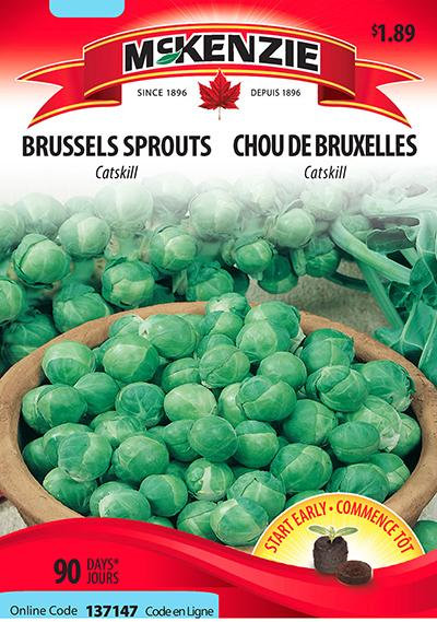 Semences Chou de Bruxelles Mckenzie
