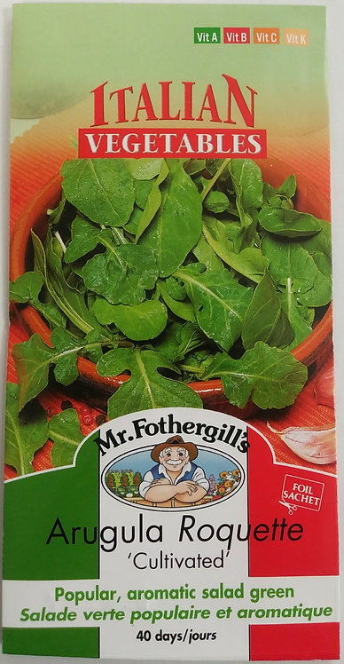 Semences Roquette Mr. Forthergill's