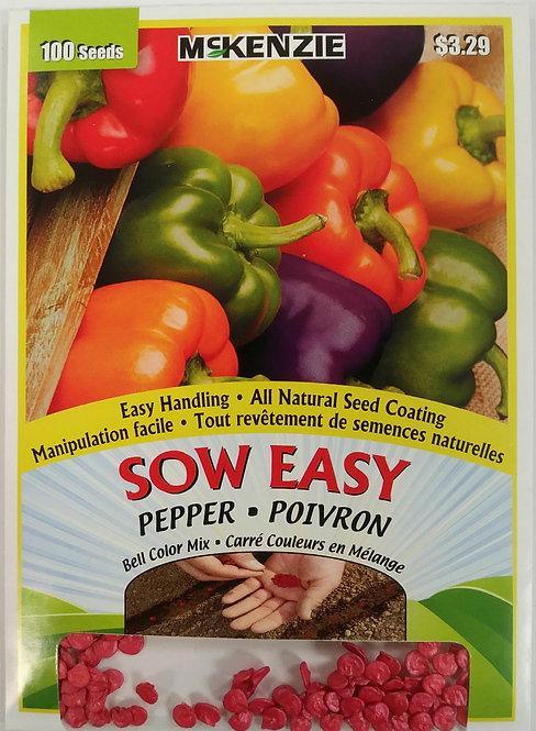 Semences Poivron Sow Easy Mckenzie