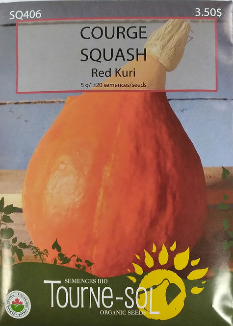 Semences Courge Tourne-Sol