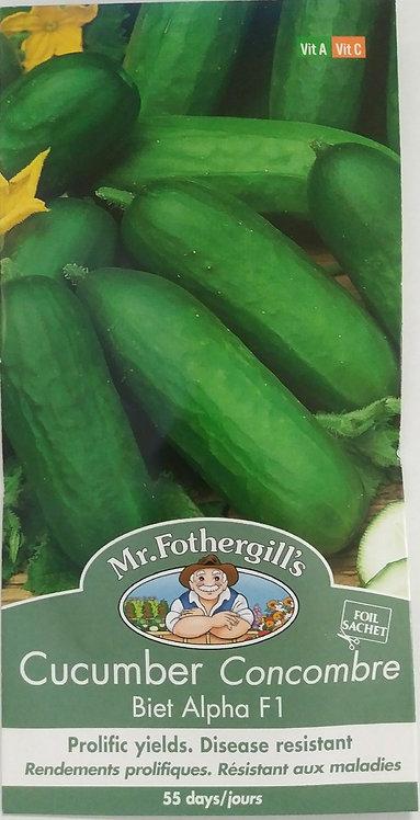 Semences Concombre Mr. Forthergill's