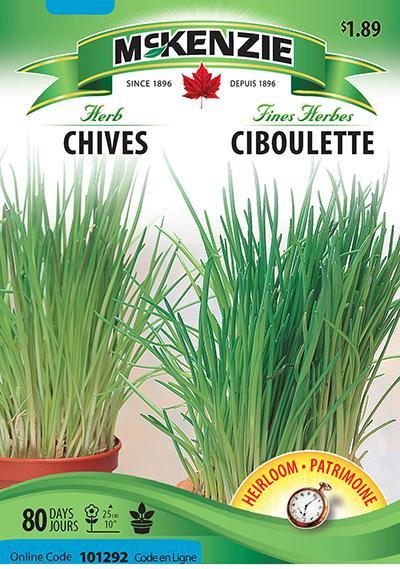 Semences Fines Herbes Vivaces Mckenzie