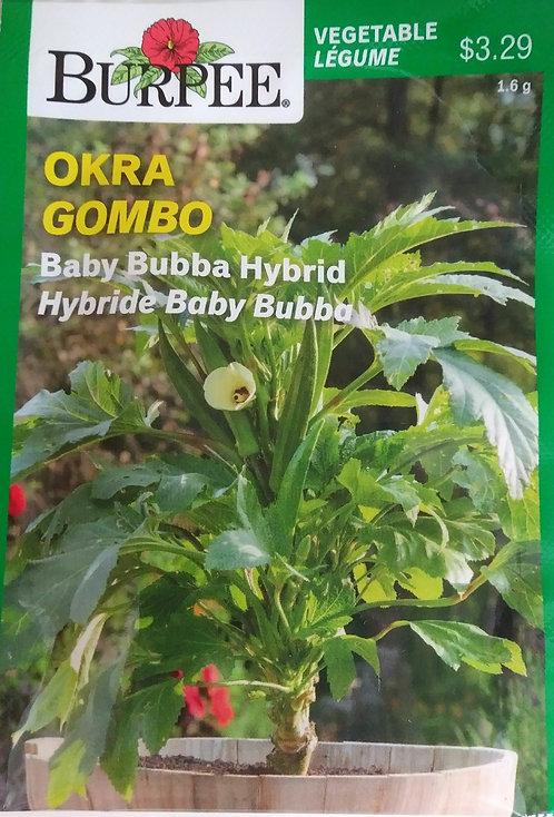 Semences Okra Burpee