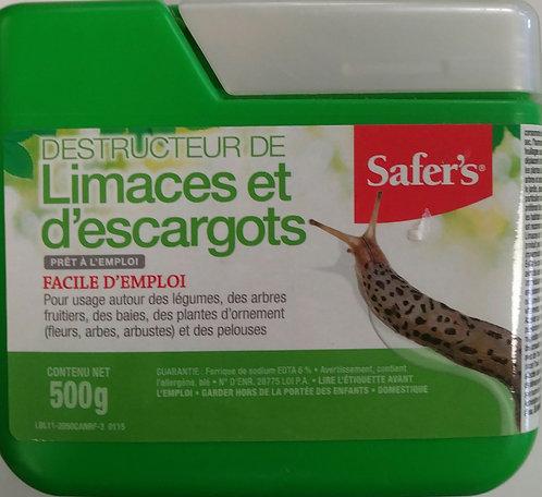Destructeur de limaces et d'escargots 500g