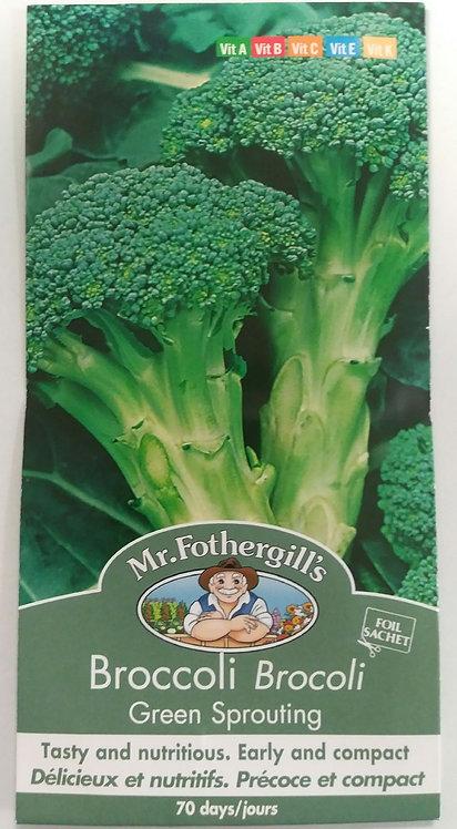 Semences Brocoli Mr. Forthergill's