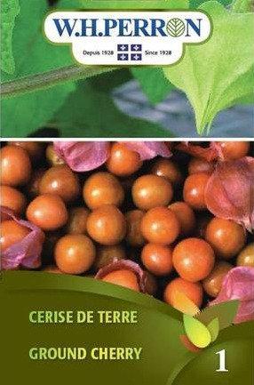 Semences Cerise de Terre W.H.Perron