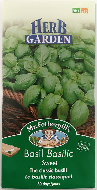 Semences Fines Herbes Mr. Forthergill's