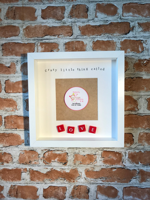 Crazy little thing called love - photo frame   Personalised Gifts ...