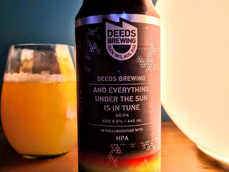 Deeds Brewing -  And everything under the sun is in tune