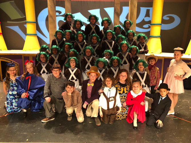 Willy Wonka Kids- Violet Cast