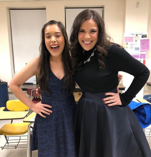 Lindsay Mendez in Bringing Broadway to Beacon