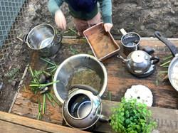 Mud kitchen creations
