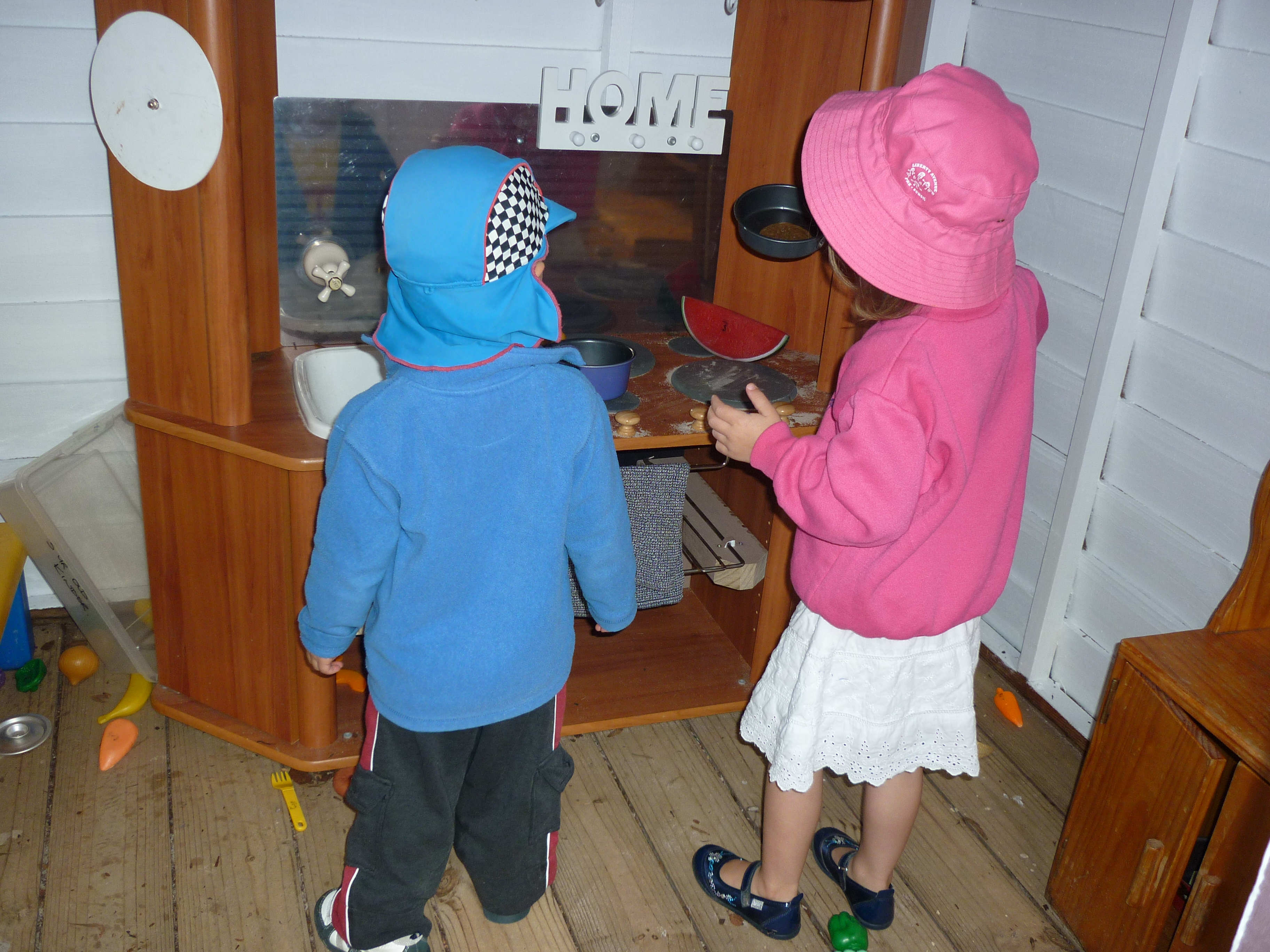 Cooking in the cubby
