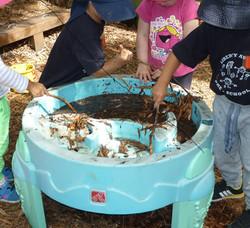 Making Mud soup
