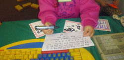 Exposure to text through play