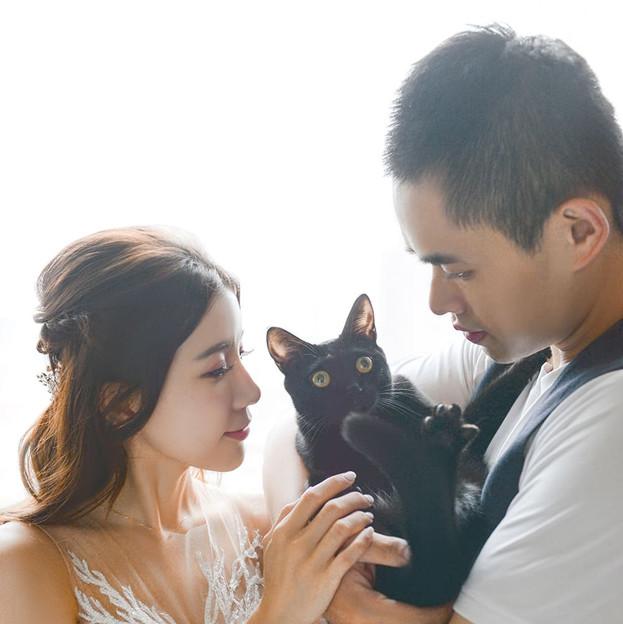 Nora & Roy +黑貓咪姆