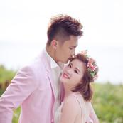Teddy & Alena半生不熟蘋果誌聯名婚紗