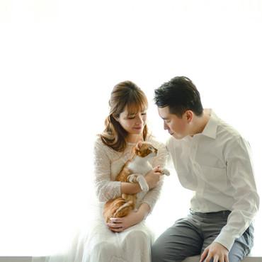 Joe&Keke的貓咪婚紗