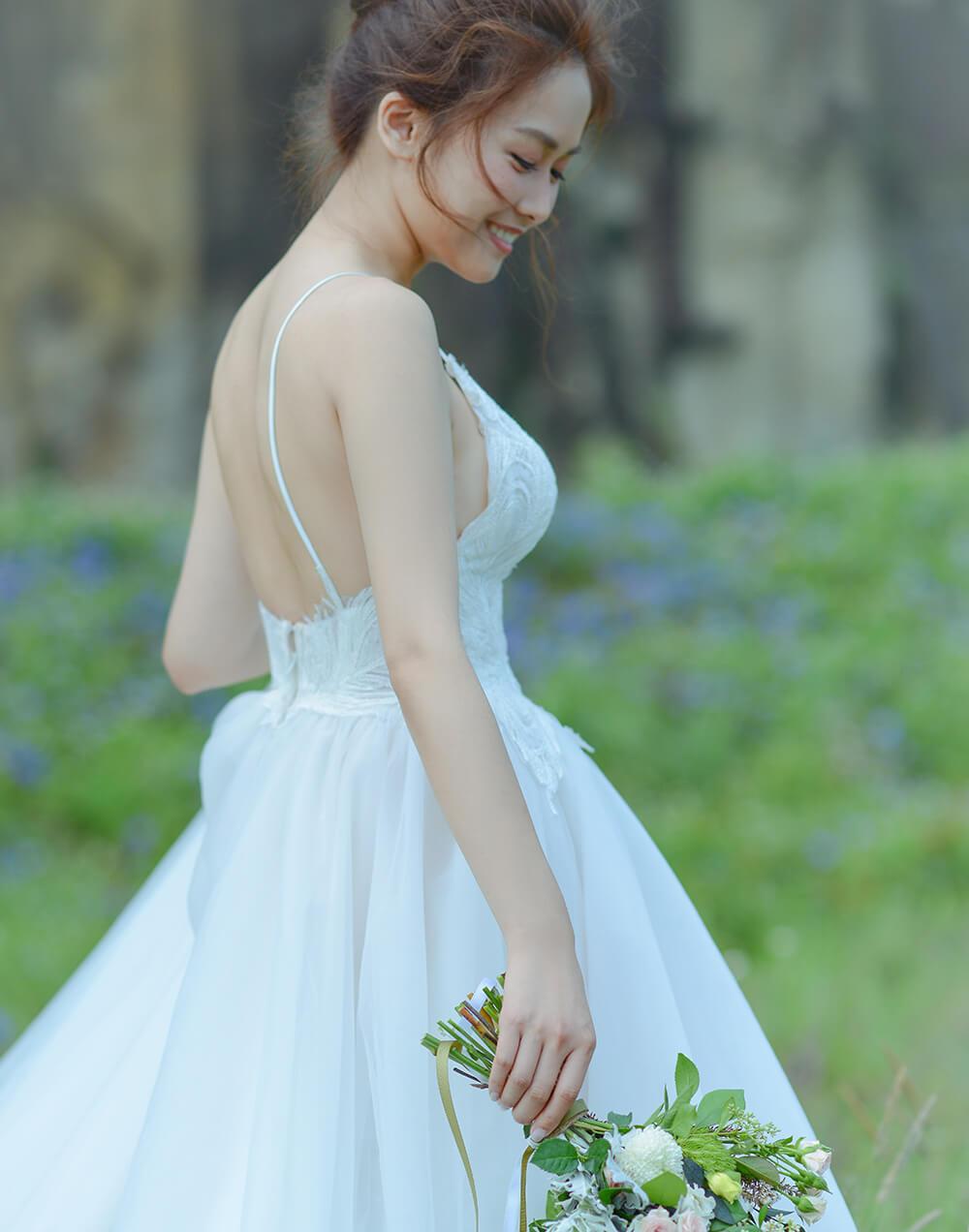 旅美新娘Zoey夏季婚紗